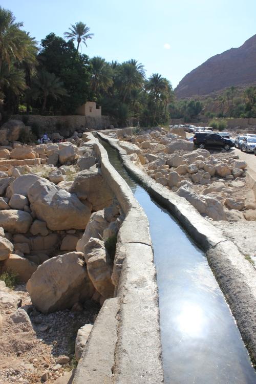 falaj to wadi