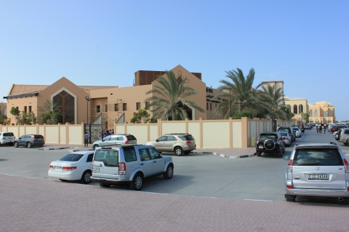 united christian church of dubai outside