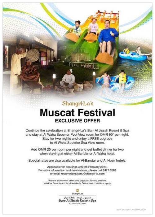 muscat festival offer from shangri la