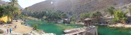Wadi Bini Khalid Panorama