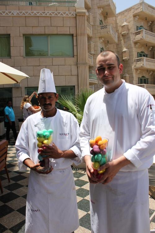 Hyatt chefs