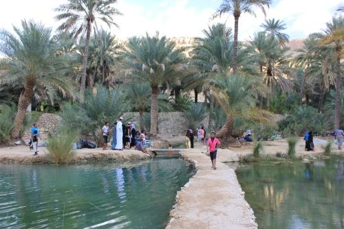 walkway at bini khalid