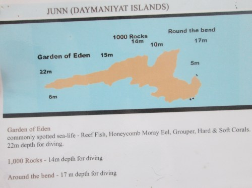dive sites at damaniyats 1