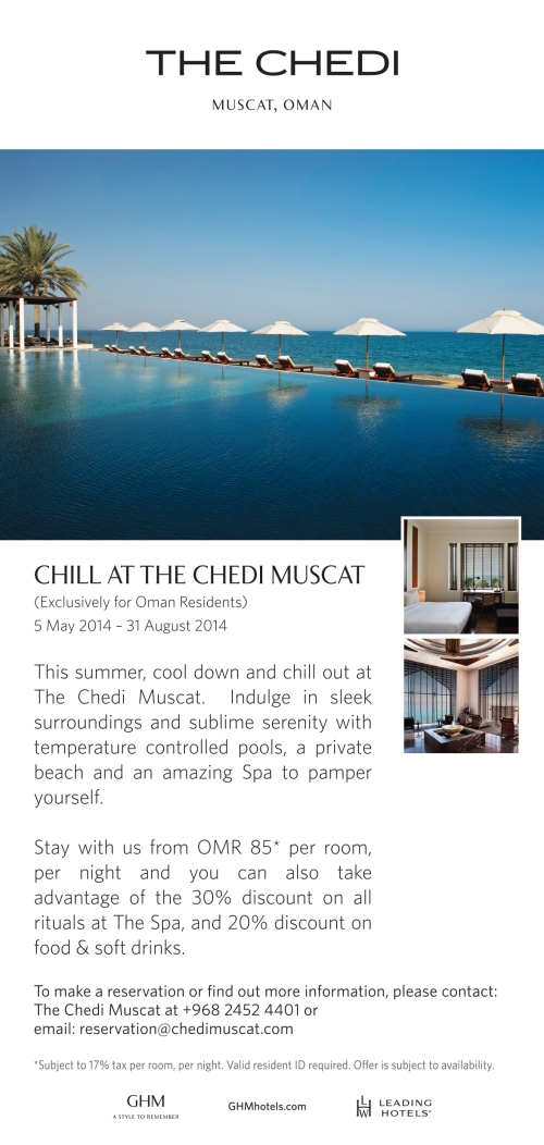 CHILL AT CHEDI 2013
