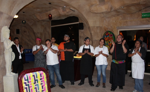 chefs and kitchen team