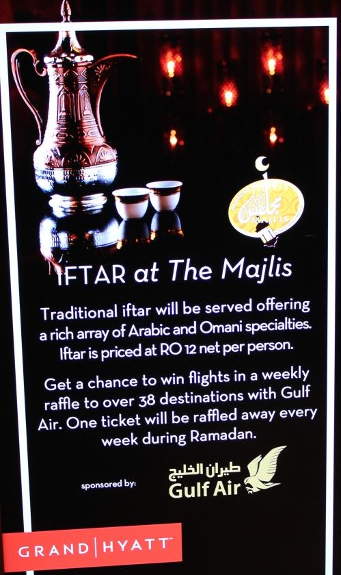 iftar at majlis