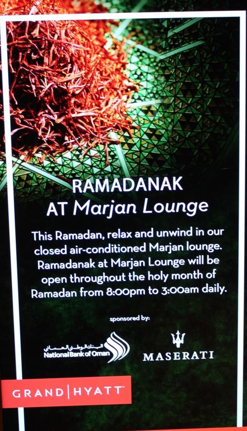 Marjan Lounge Ramadan