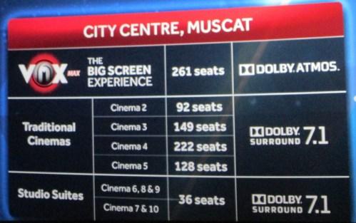 MCC cinemas