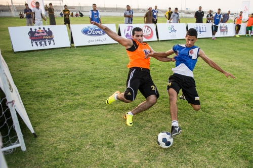 Competitors perform during the Winning 5 in Al Batinah, Oman on June 6, 2014.