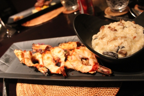 grilled jumbo prawns